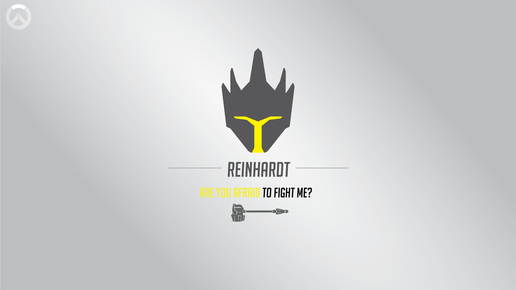 Overwatch Wallpaper Dual Monitor: Overwatch Reinhardt Single Monitor Wallpaper By