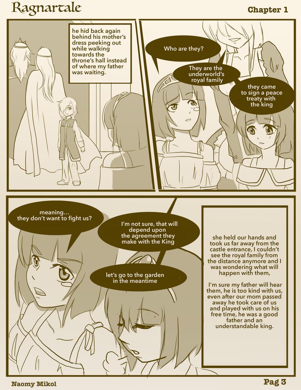 Ragnartale Webcomic / ENG. / Chap. 1  / pag. 3