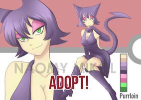 Adopt #6 human pokemon PURRLOIN