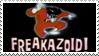 Freakazoid Stamp