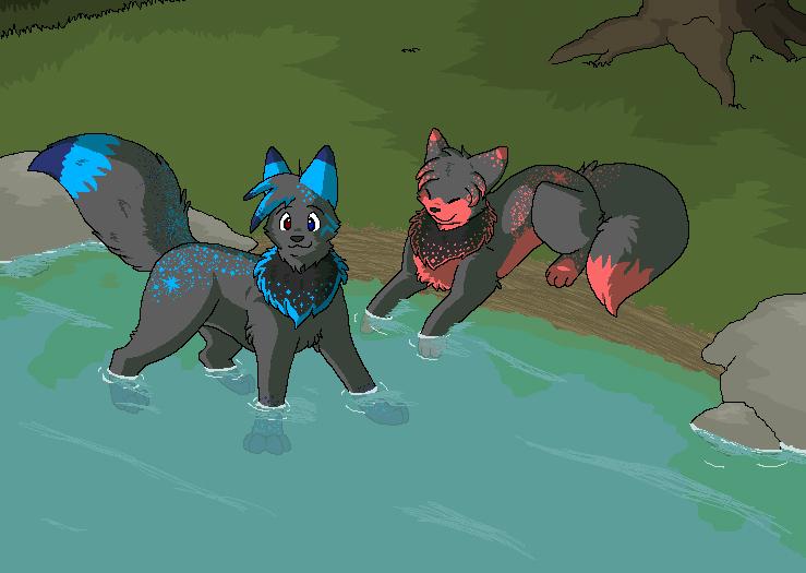 Wolf Pup Base Ms Paint Wwwimagenesmycom