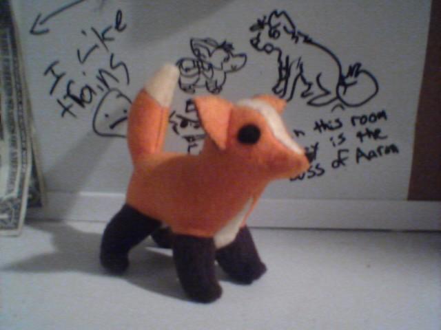 Mini Fox Plush by Miiroku