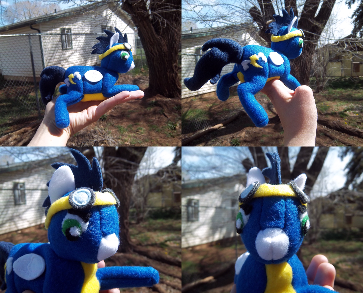 Wonderbolts - Soarin Plush by Miiroku