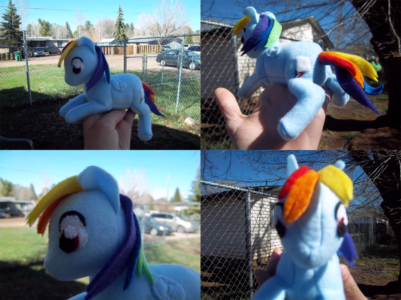 Rainbow Dash Plush by Miiroku