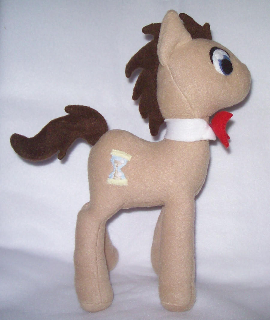Time Turner AKA Dr. Whooves Plush by Miiroku