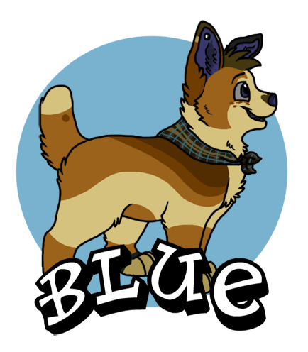 A Blue Badge by Miiroku