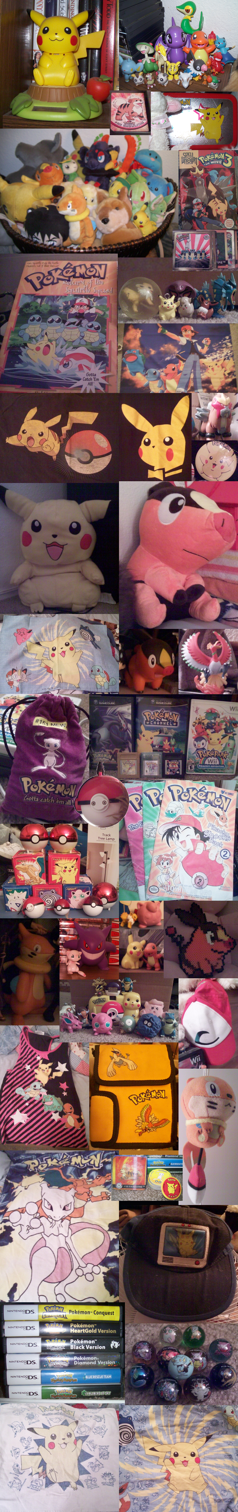 (Most of) My Pokemon Collection by Miiroku