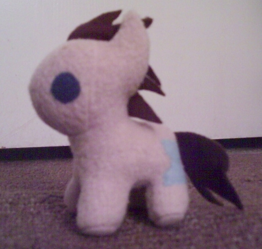 Mini Doctor Whooves Plush by Miiroku