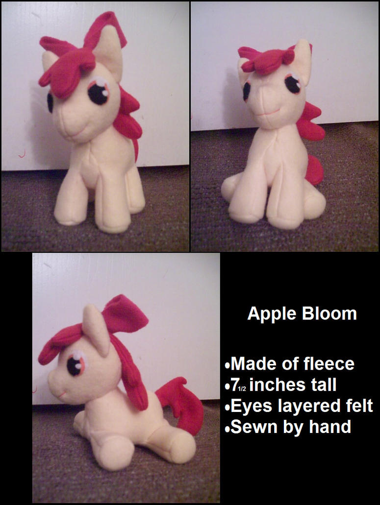 Apple Bloom Plush by Miiroku