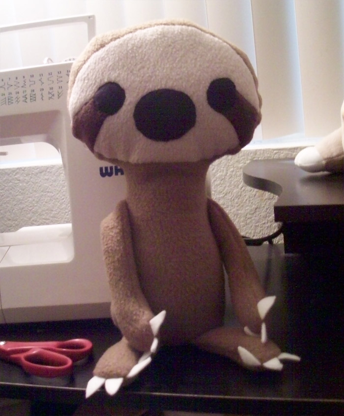 Sloth Plush by Miiroku