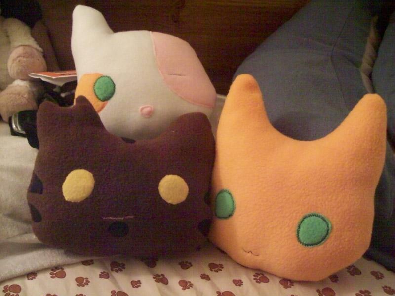 Warriors Pillow by Miiroku