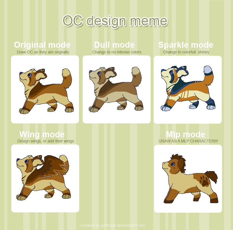 OC Design Meme by Miiroku