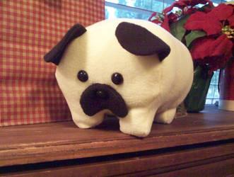 Pug Loaf by Miiroku