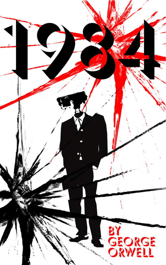 1984 Book Cover 2 By Ioski1 On Deviantart