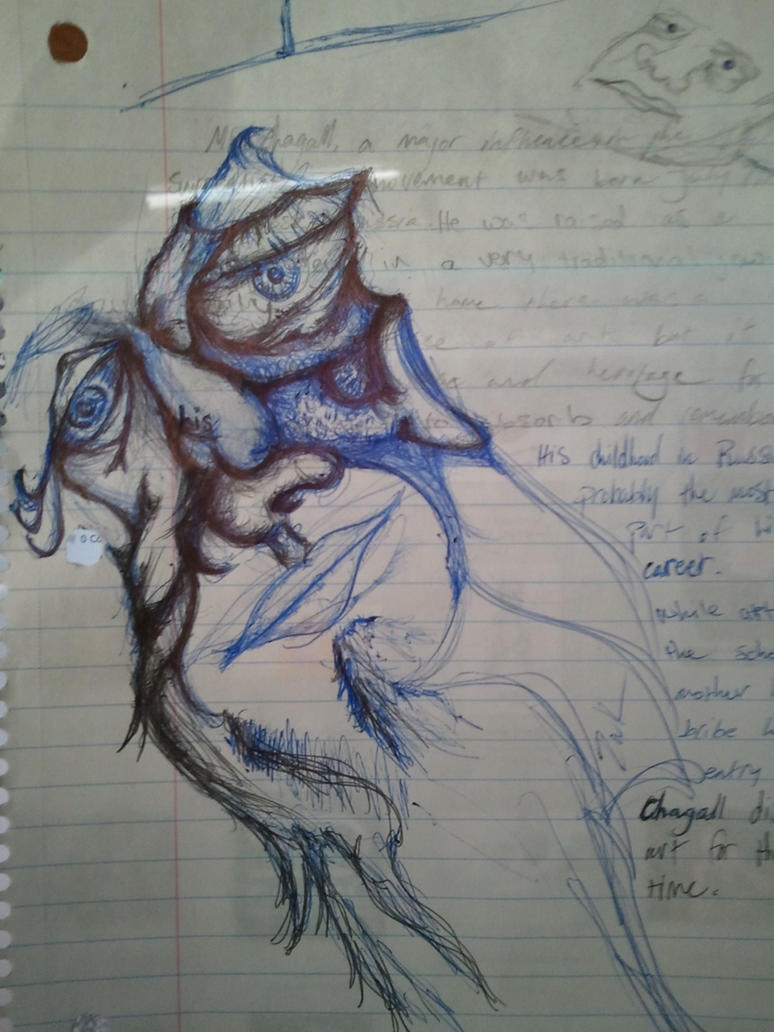 Crazy face sketch by ZakTheBridge on DeviantArt