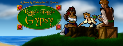 Raggle Taggle Gypsy Banner Complete 07 by chbgraphics