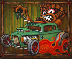'Full-Tilt' Tiki by Go-Baby-Go