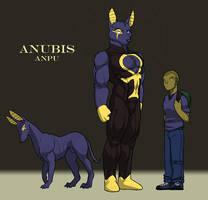Last Ennead: Anubis Sheet by RickGriffin