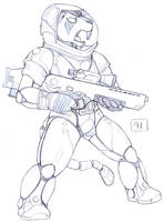 Iron Artist 91 by RickGriffin