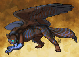 Tain Gryphon by RickGriffin