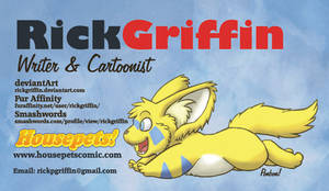 Ponbon Business Card by RickGriffin