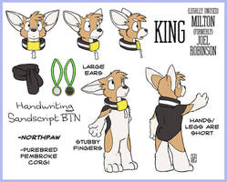 King Character Sheet