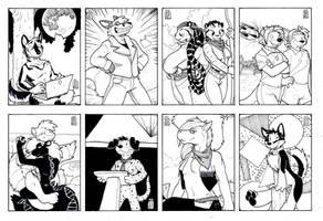 Iron Artist 2, 41-48 by RickGriffin