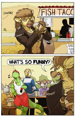A Charli Comic
