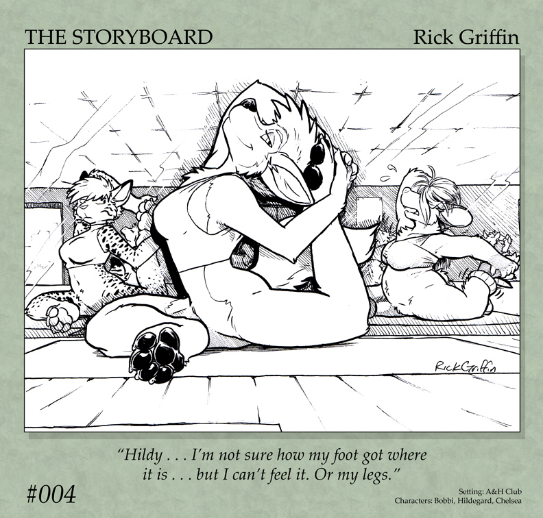 The Storyboard - 004 by RickGriffin