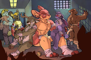Pit Fighters by RickGriffin