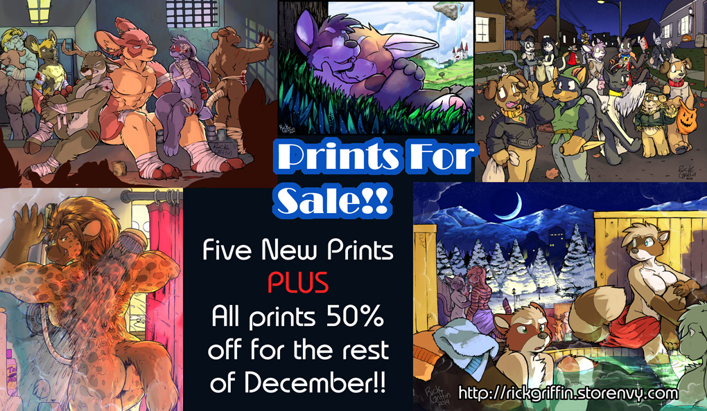 More Prints For Sale - Half Off! by RickGriffin