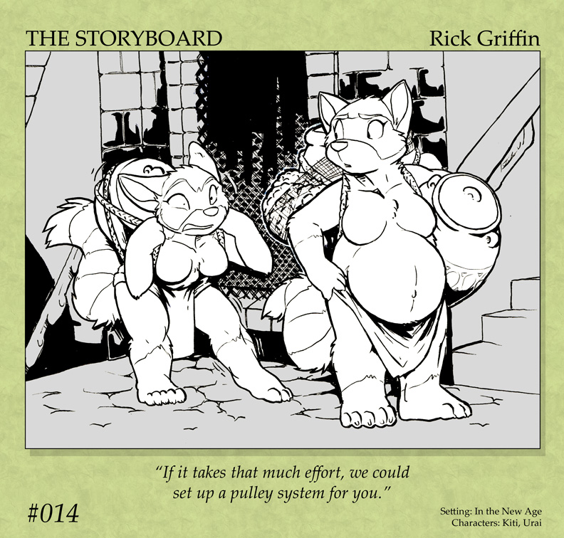 The Storyboard - 014 by RickGriffin