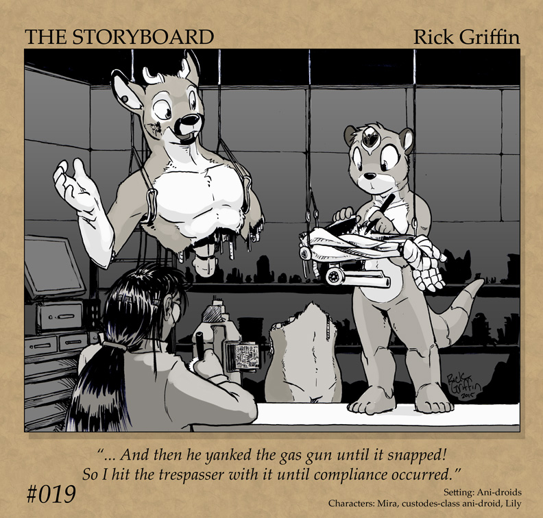The Storyboard - 019 by RickGriffin