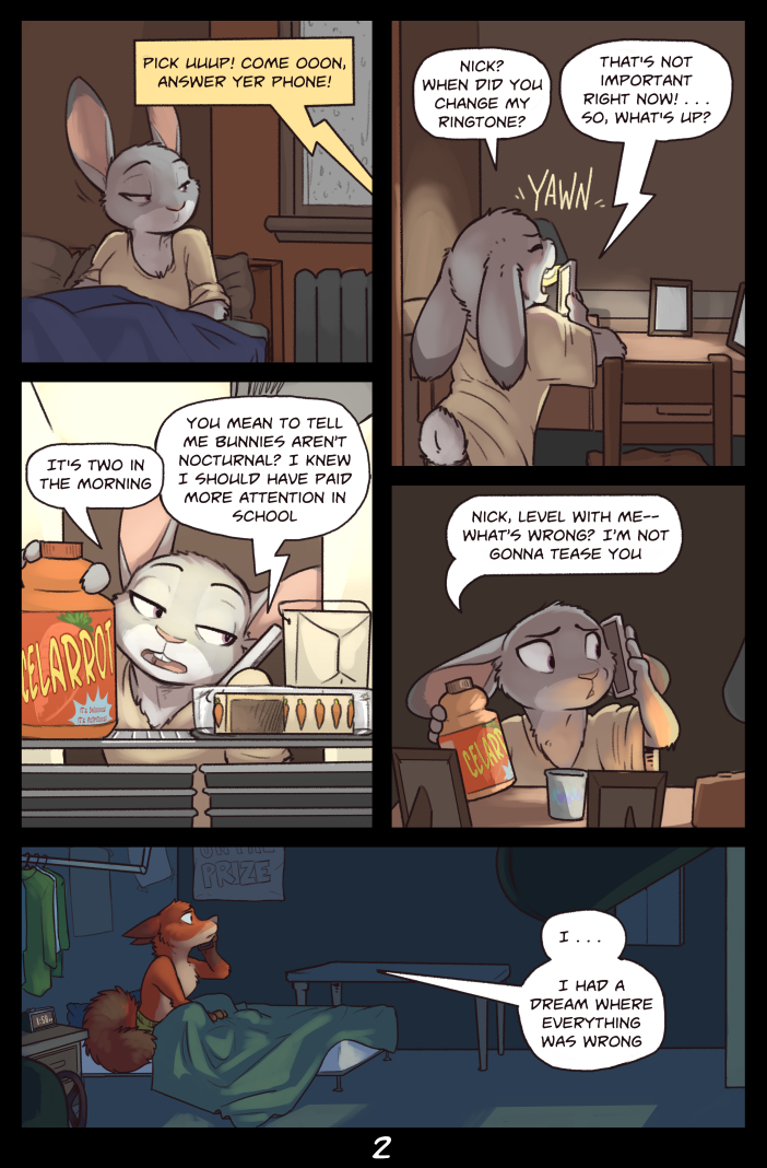 Zootopia: Night Terrors p2