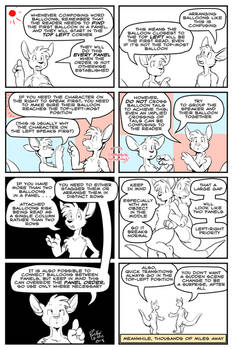 Educate Yourself With Bruce And Roos: Word Balloon
