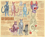 Geordian Species Sheet