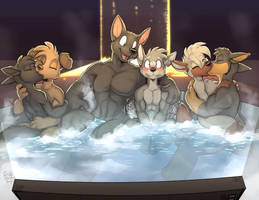 Housepets Spa Movie Night