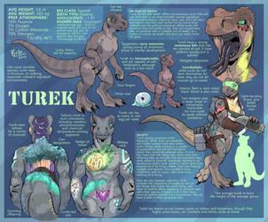 Turek Species Sheet by RickGriffin