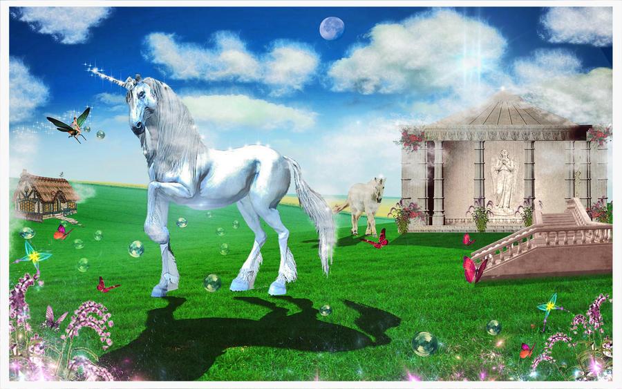 Playground For Unicorn :) by Huzznie