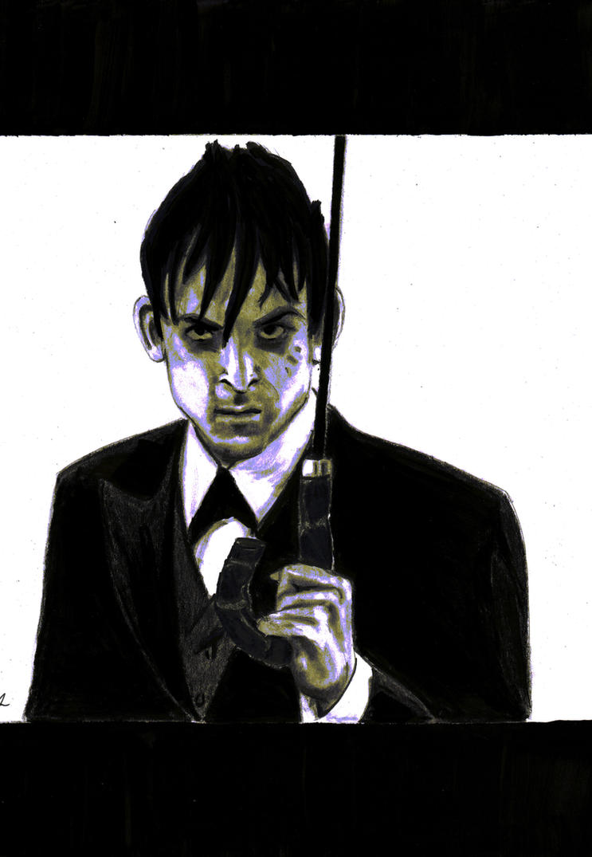 Gotham's Oswald Cobblepot by spankingfemfatale