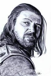 Ned Stark by imtherealjenna