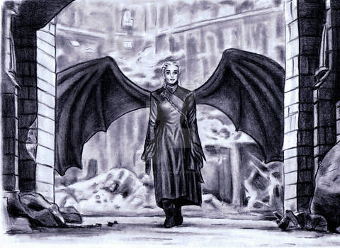 Daenerys dragon wings