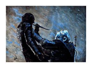 Arya vs the Night King