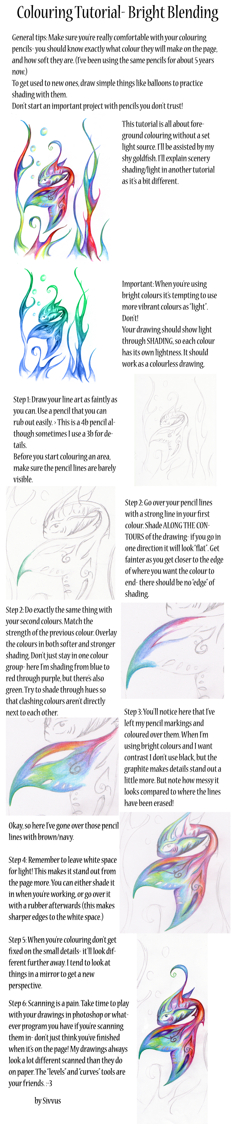 Traditional Colouring Tutorial by sivvus