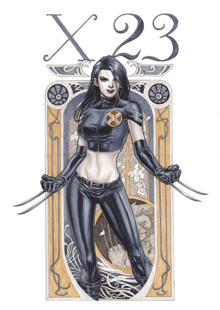 X-23 by godmercys