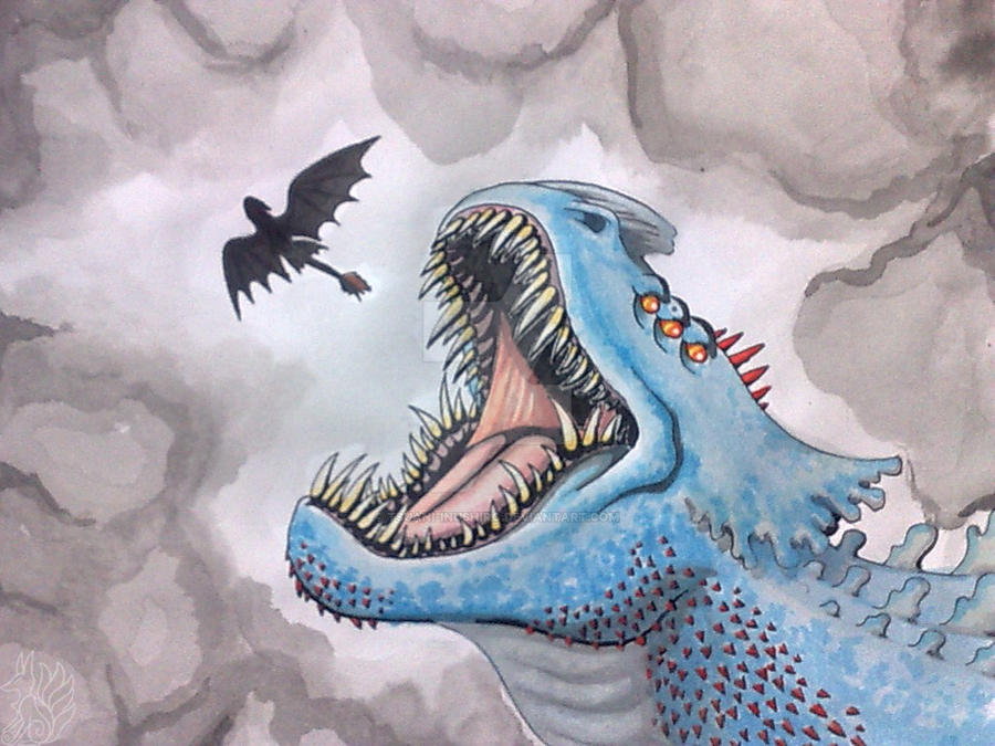Toothless Vs Red Death By Tsuani Inushiro On Deviantart