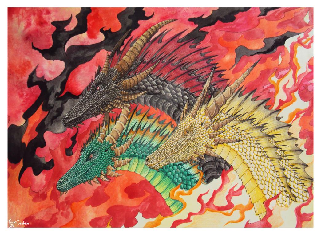 Dracarys by Tsuani-Inushiro