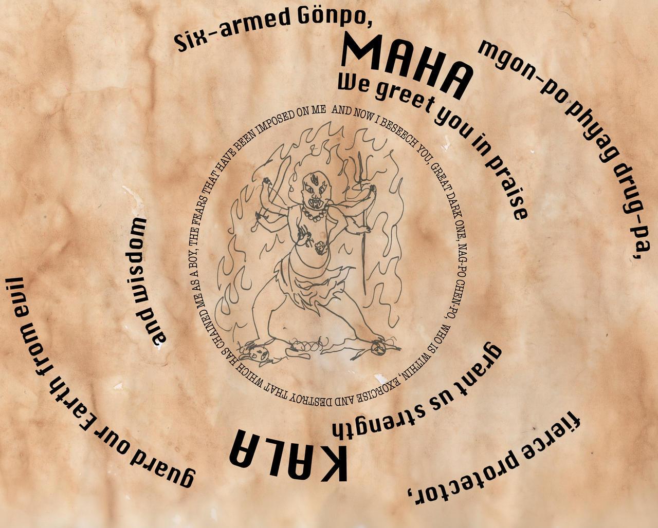 Prayer to Mahakala by NothingIsPersonal on DeviantArt