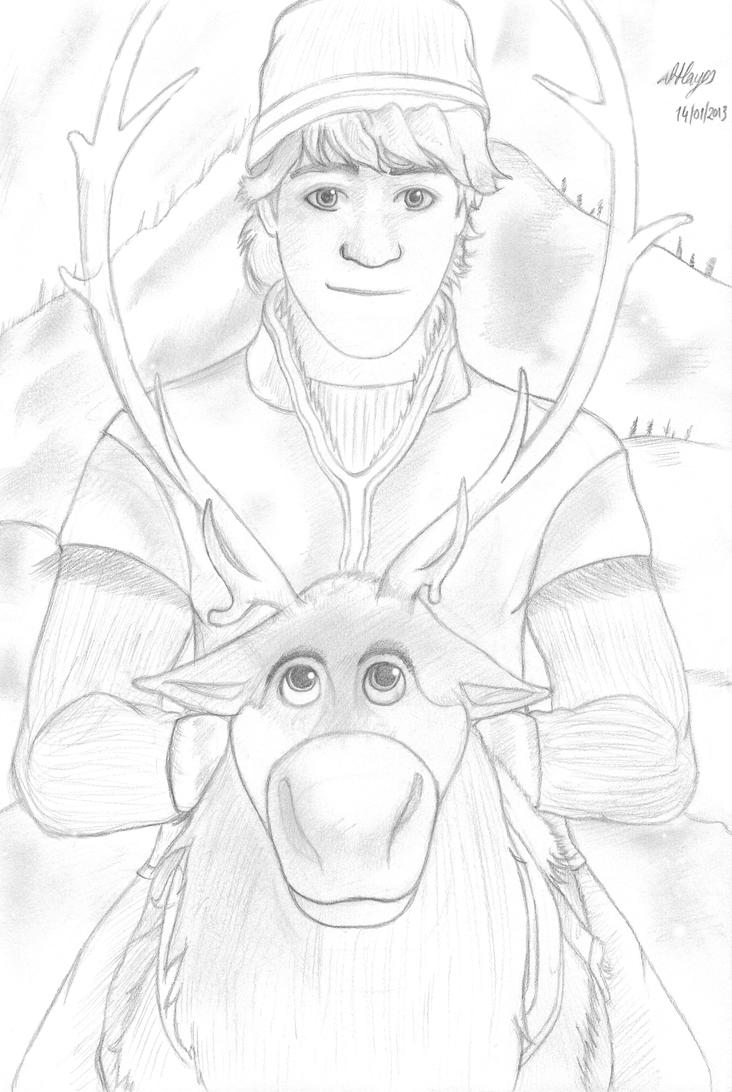 Displaying 15> Images For - Sven Frozen Drawing...