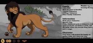 Nguvu Refrence Sheet by BeeStarART